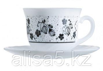 ALCOVE BLACK чайный сервиз на 6 персон из 12 предметов (22сl), шт.