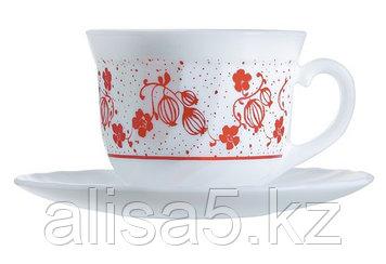 Alcove red сервиз чайный 22 cl, уп.