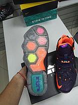 Баскетбольные кроссовки Nike Lebron XII (12) Deep Blue Orange, фото 3