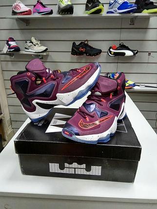 Баскетбольные кроссовки Nike Lebron 13 (XllI) Cleveland Cavaliers, фото 2