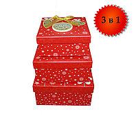"""Подарочные коробки """"Игрушки""""елочные, 19 см, фото 1"""