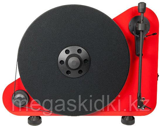 Виниловый проигрыватель Pro-Ject VT-E R OM5e красный
