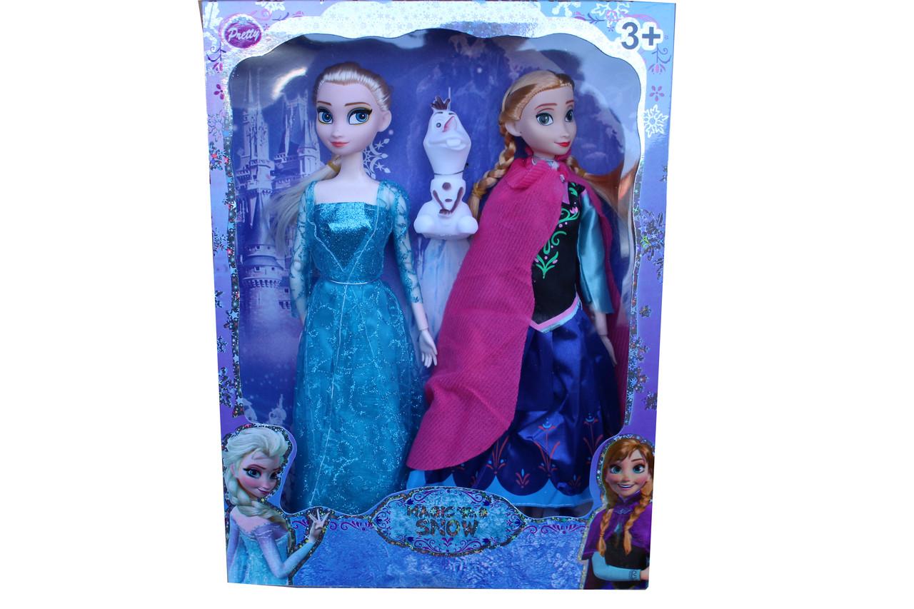 Анна и Эльза с снеговиком 113ВMQ