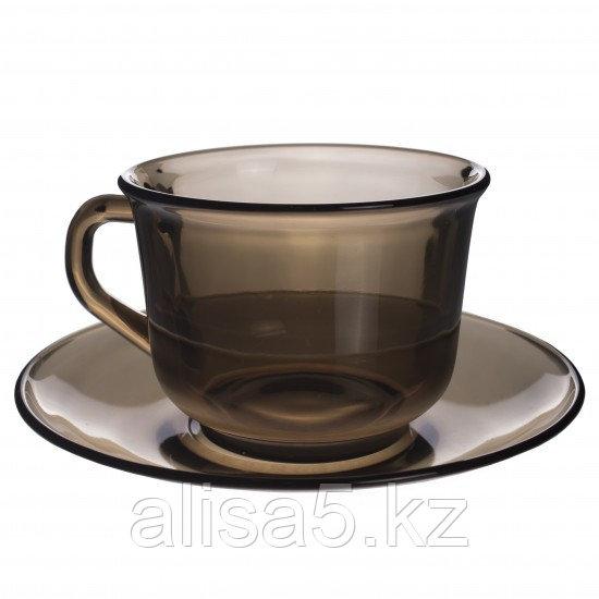 LUMINARC чайный сервиз гладкий на 6 персон из 12 предметов (220 мл), шт