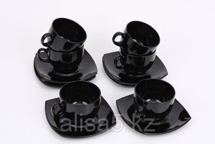 Quadrato Black сервиз чайный 22сl, уп.