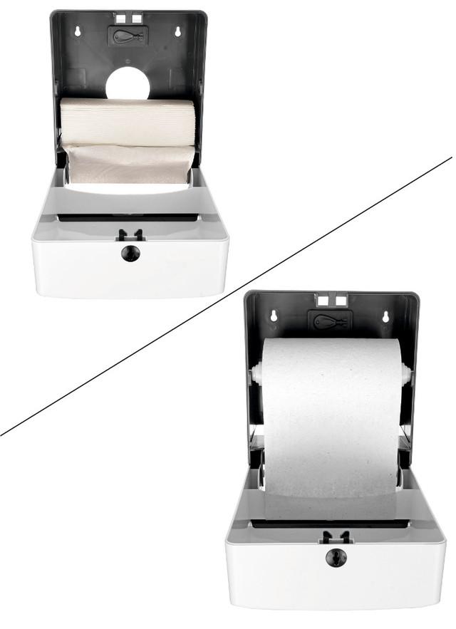 механический диспенсер для бумажных полотенец