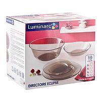 Столовый сервиз Luminarc Directoire Eclipse 19 предметов на 6 персон
