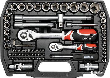 Набор инструментов YATO 72 предмета