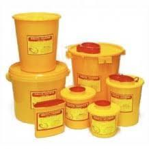 Контейнер пластиковый для сбора острого инструментария 5,6 л Класс Б