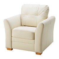 Кресло ГЕССБЕРГ Глосе/Бумстад бежевый ИКЕА, IKEA