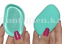 Спонж для макияжа KYLIE силиконовый двусторонний (зеленый)