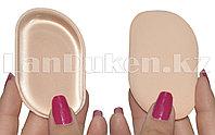 Спонж для макияжа KYLIE силиконовый двусторонний (бежевый)