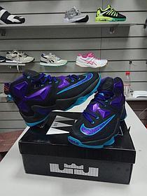 Баскетбольные кроссовки Nike Lebron 13 (XllI) Black and Purple