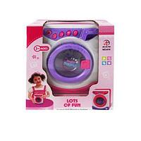Детская игровая стиральная машина (Вращается барабан)