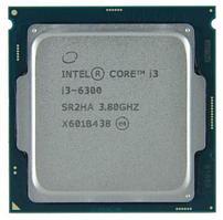 Процессор Intel Core i3-6300 (3.8 GHz), 4M, LGA1151 Tray,  CM8066201926905 SR2HA