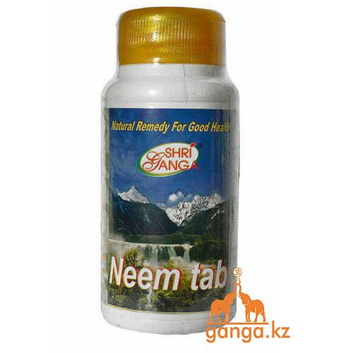 Ним Очищение Крови и Кожи (Neem SHRI GANGA), 200 таб.