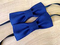 Галстук-бабочка синий, фото 1