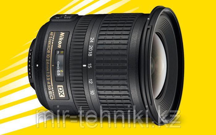 Объектив Nikon Nikkor AF-S 10-24mm f 3,5-4,5 G ED