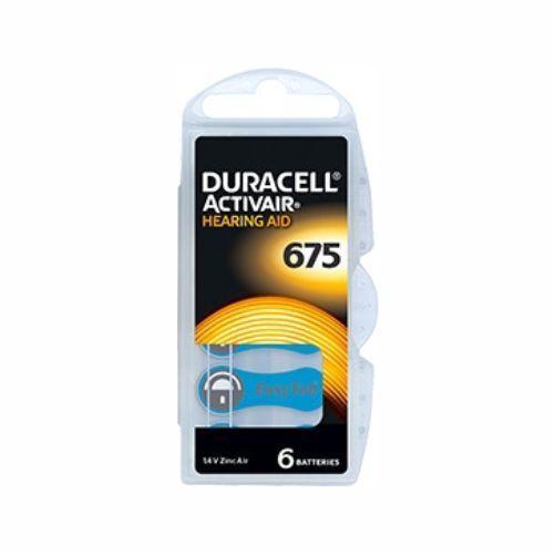 Батарейка DURACELL ActivAir DA675 для слуховых аппаратов