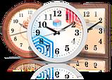 Дизайнерские часы из дерева, резка, гравировка, фото 3