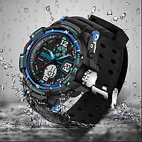 Спортивные мужские водонепроницаемые часы SANDA 289, фото 1