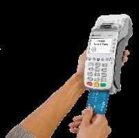 POS-ТЕРМИНАЛ VERIFONE VХ520 GSM (Ethernet, Dial-up, GPRS, с поддержкой бесконтактных карт)