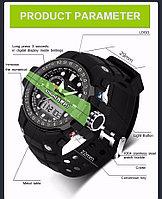 Спортивные мужские водонепроницаемые часы SANDA 399, фото 1