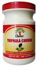 Трифала чурна (Triphala churna), Дабур, 500 г, Индия. очищение кишечника