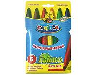 """Фломастеры """"Carioca Jumbo"""" 6 цветов"""