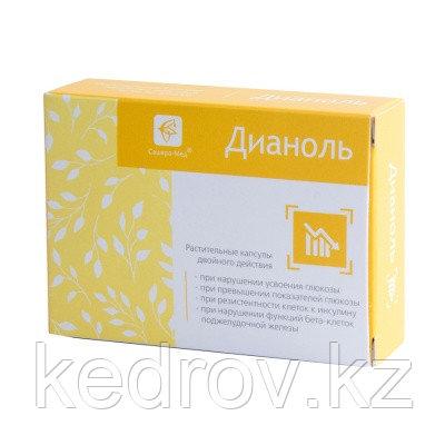 Дианоль, растительные капсулы, №30 по 500 мг (при сахарном диабете)