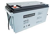 Аккумулятор Challenger A12-70 (12В, 70Ач)