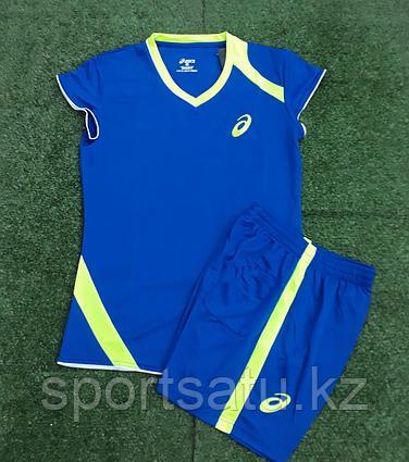 Женская волейбольная форма Asics синий