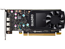 Профессиональная видеокарта HP NVIDIA Quadro P400 2GB,  1ME43AA