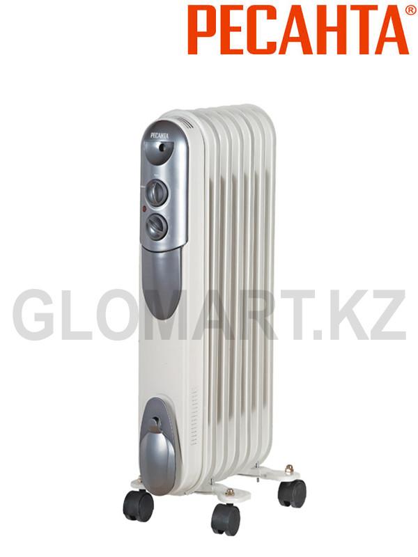 Масляный радиатор Ресанта ОМПТ-7Н на 15 м2 (Ресанта)