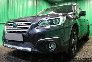 Защита радиатора Subaru Outback V 2015- black