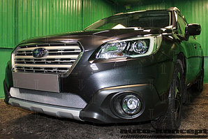 Защита радиатора Subaru Outback V 2015- chrome
