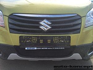 Защита радиатора Suzuki SX4 (II S-Cross) 2013-2016 black