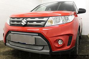 Защита радиатора Suzuki Vitara 2014- (2 части) chrome