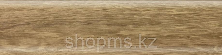 Плинтус с мягким краем Salag NGF069 Дуб Бурбон Натур 2500*56 мм, фото 2