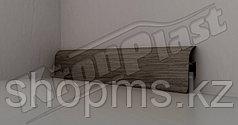 Плинтус с мягким краем KronPlast 534 Дуб серый 2500*57