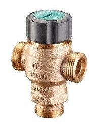 """Клапан трехходовой термостатический Oventrop """"Brawa-Mix"""" DN 20, G 1 x G 1 x G 1 (130 03 06)"""