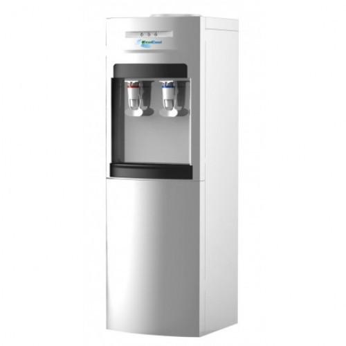 Диспенсер напольный  для воды Модель EcoCool 96LBА серебристый