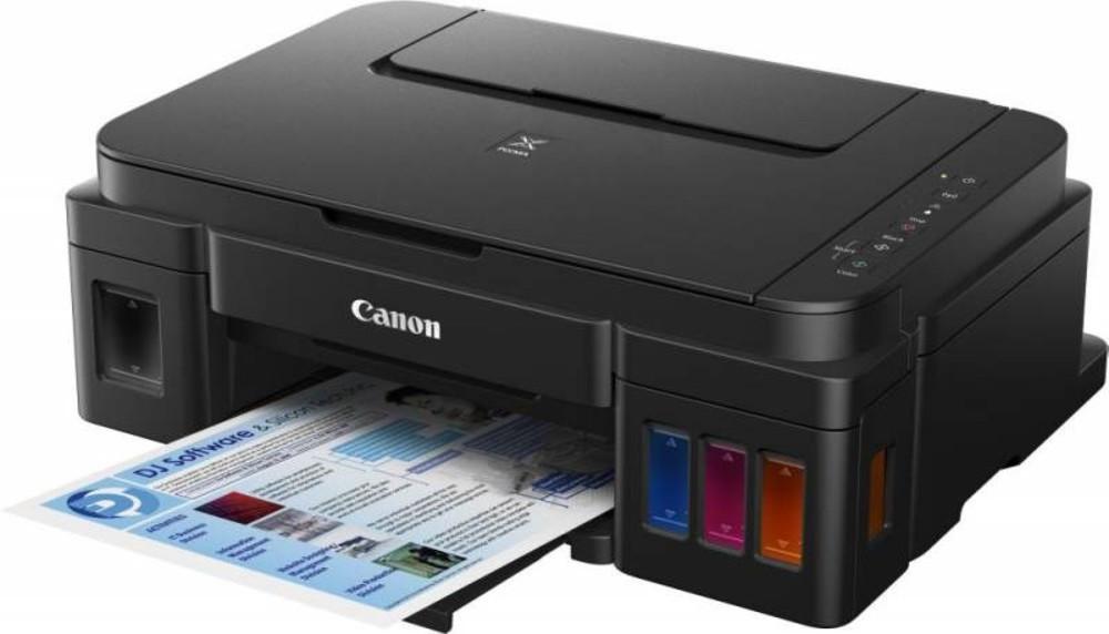 Принтер Canon PIXMA G3400 WiFi черный, струйный с СНПЧ, A4, цветной,  0630C009