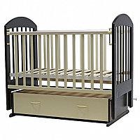 Детская кроватка Дарина-6 венге-слон.кость Топотушки