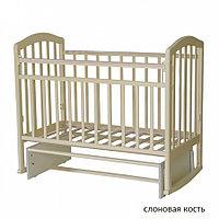 Детская кроватка Антел Алита-3 Маятник (слоновая кость), фото 1