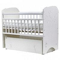 Детская кроватка Софья - облака (белый) Топотушки, фото 1