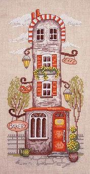 """Набор для вышивания крестом """"Пряничный домик"""""""