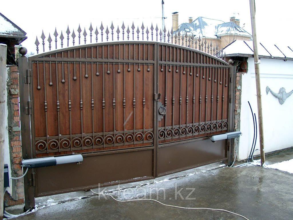 Стальные ворота