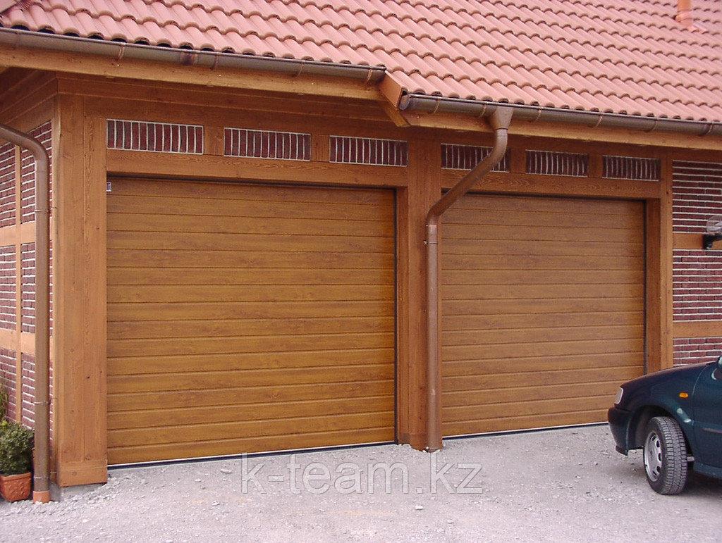 Секционные, гаражные ворота ZAIGER