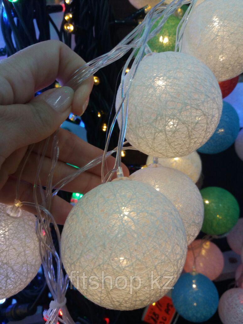 Гирлянда  шарики 3,5 метра